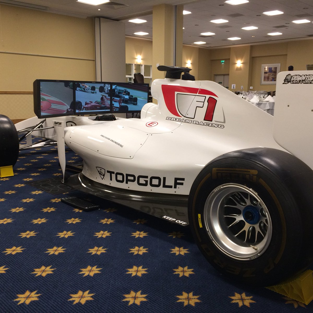 Dreamracing On Twitter For Sale This Full Size F1 Car Simulator