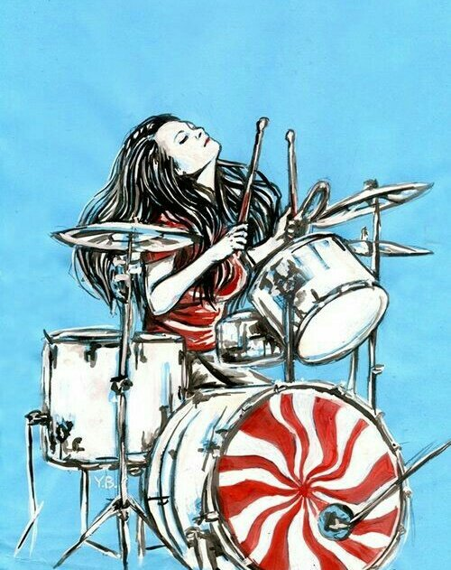 Happy Birthday Meg White   The White Stripes - Fell in Love With a Girl