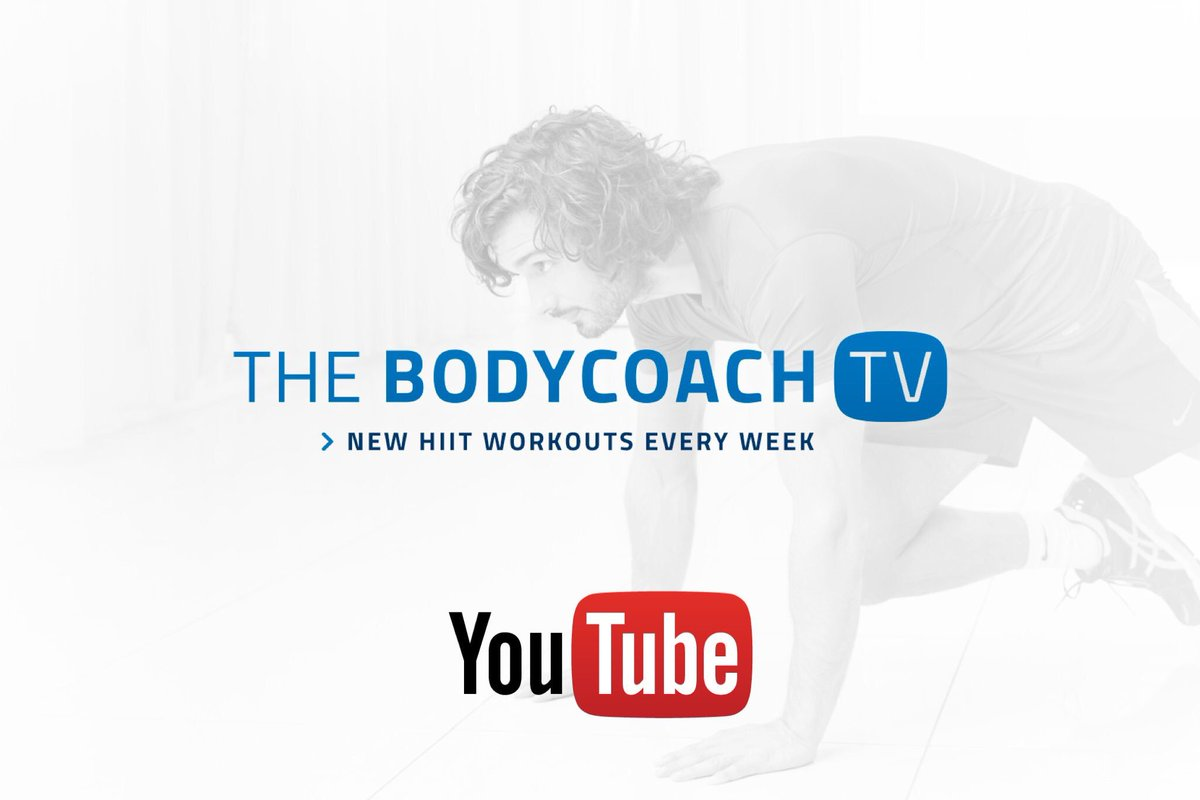 "The Body Coach on Twitter: ""You don't need a gym to burn fat and ..."