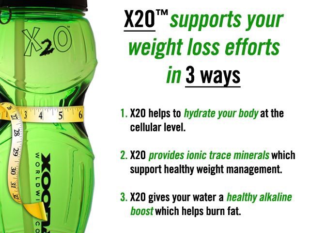 X20 weight loss