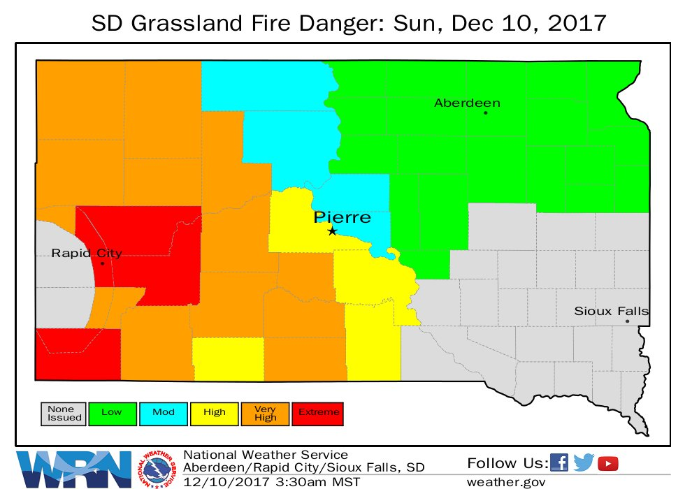 Rapid Valley VFD on Twitter A Red Flag Warning has been issued for