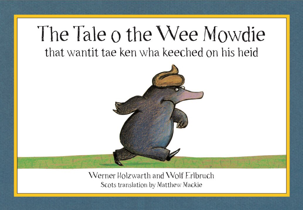 """Did ye ken ye can nou buy 'The Tale o the Wee Mowdie' frae the Common Market?   """"Common Market is an online marketplace for local manufacturers, producers and independent retailers based in Scotland.""""   https://www. commonmarket.scot/en/listings/49 4718-the-tale-o-the-wee-mowdie &nbsp; …   #independent  #local #ethical<br>http://pic.twitter.com/H68yNsW3CG"""