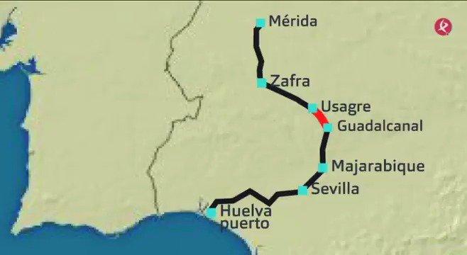 AVANCE | Hoy abrimos el informativo con información exclusiva de interés para empresarios de la región: el puerto de Huelva quiere ser la salida al mar de las mercancías extremeñas.  Ampliamos detalles durante la mañana; al completo en #EXN1📺. @ExtEnRed https://t.co/r0yxsAt2pa