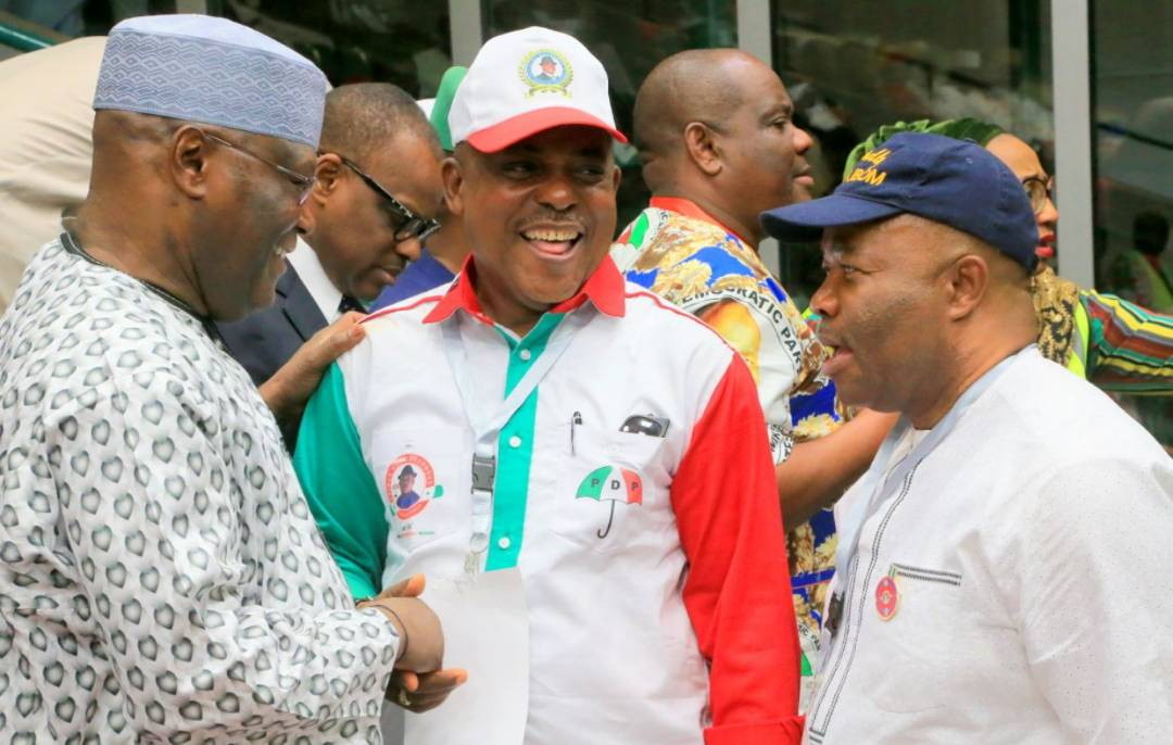uche secondus, secondus, pdp, chairman  Text of the acceptance speech by new Peoples Democratic Party [PDP] Chairman, Prince Uche Secondus at the party's National Convention held in Abuja.