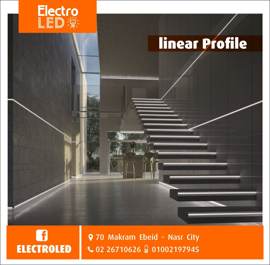 Electroled On Twitter It S Time To Apply Led Linear Profile