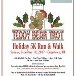 Come get your holiday run on! It's time for the Teddy Bear Trot! Registration begins at 8:30 a.m. @HarborViewMV #christmasinedgartown #mvteddybearsuite - prizes from @lululemon @MurdicksMV