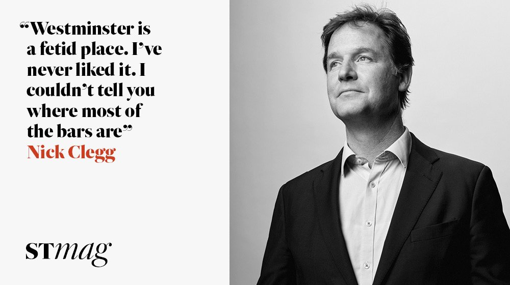 The Interview: Nick Clegg opens up to Camilla Cavendish about his son's lymphoma diagnosis, his anger at Brexit and life after Westminster @CamCavendish @nick_clegg https://t.co/i8NNHj7doJ
