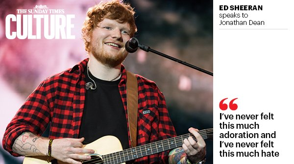 #EdSheeran on his appearance in #GameOfThrones — and the inevitable backlash https://t.co/AoYm1PXRPn