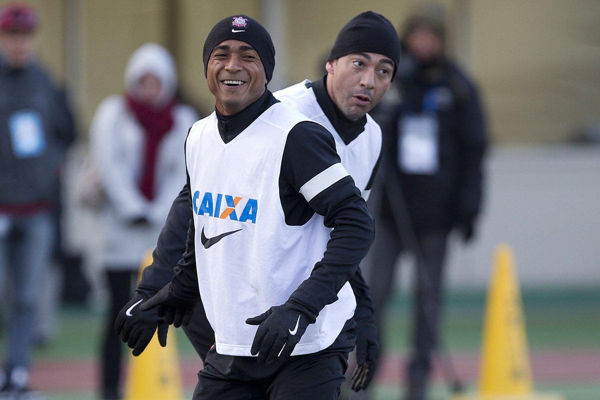 Sob frio intenso, o #Corinthians se despedia de Nagoya (JAP) há cinco anos! #Timão treinou pela última vez na cidade antes de enfrentar o Al Ahly (EGI) pelas semifinais do Mundial de Clubes da FIFA em 2012!  📷 Daniel Augusto Jr./Agência Corinthians  #5AnosDoBiMundial