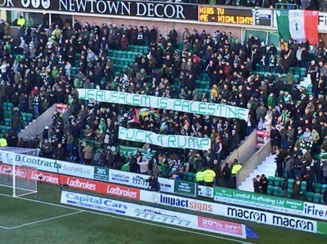 You've got to love the famous Glasgow Celtic! Hail Hail #celtic #palestine #Jerusalem