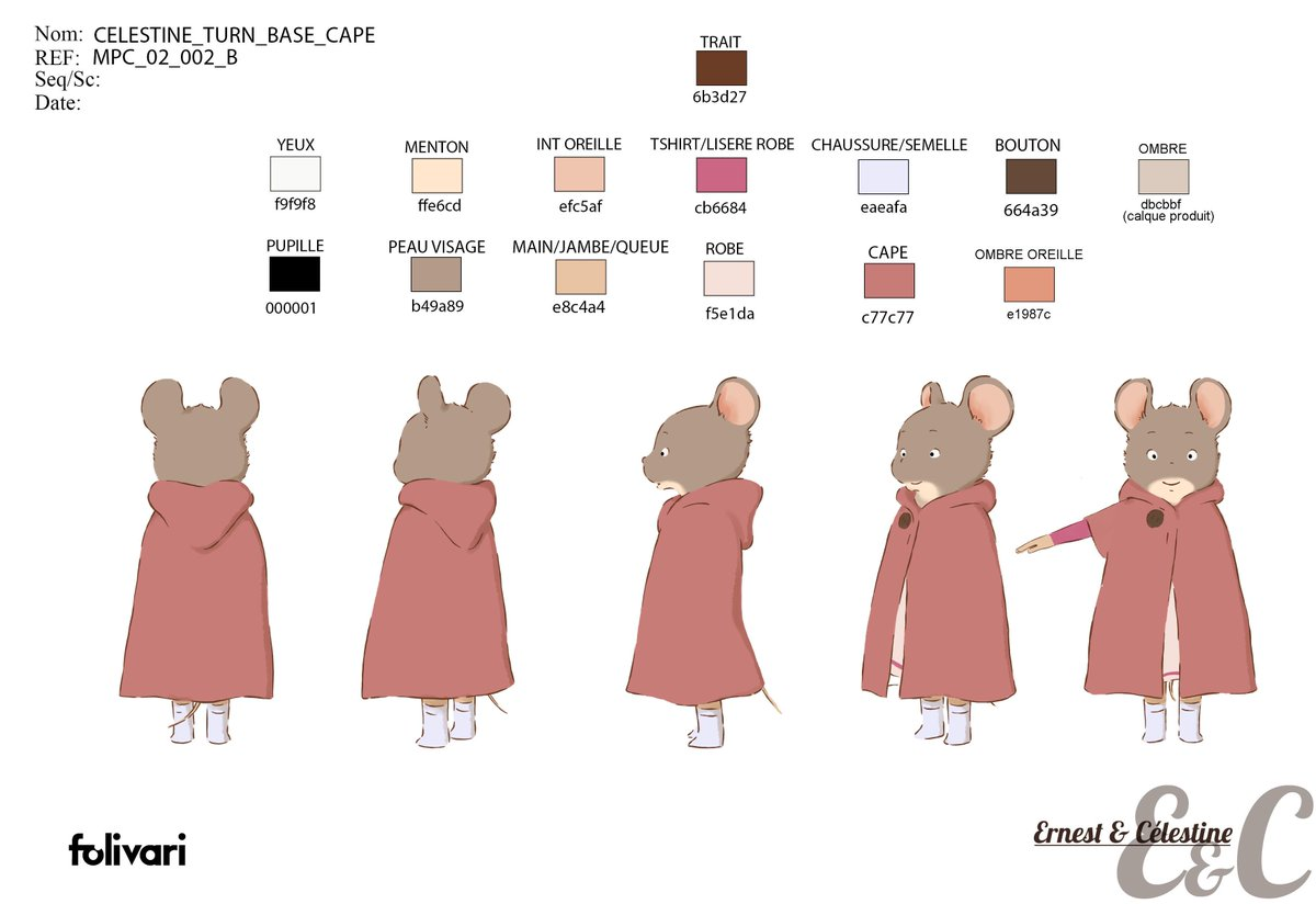 Craft On Twitter The Lovable Characters Ernest And Celestine Have Their Own Cute Sheets Of Character Design From The Development Of The Tv Series Version By Folivari French Animation At Its Finest Https T Co Apjph3gw7k