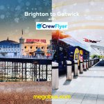 Service update - @Crewflyer1 all services between Gatwick and Brighton are running as usual today Sunday 10th December. @megabusuk #WinterWeather #transport #Aviation #crewlife #cabincrew #flightattendant #Traveller #buses #coaches