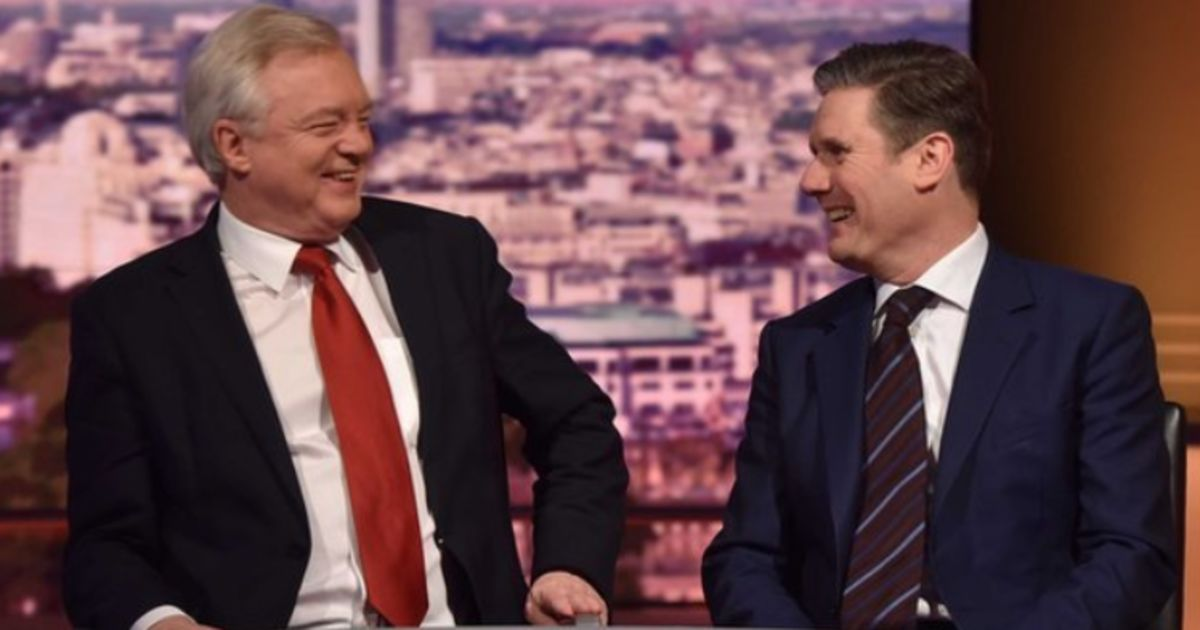 Sunday shows round-up: David Davis, Keir Starmer and Trump's controversial Jerusalem move https://t.co/a9zBDXB3EM
