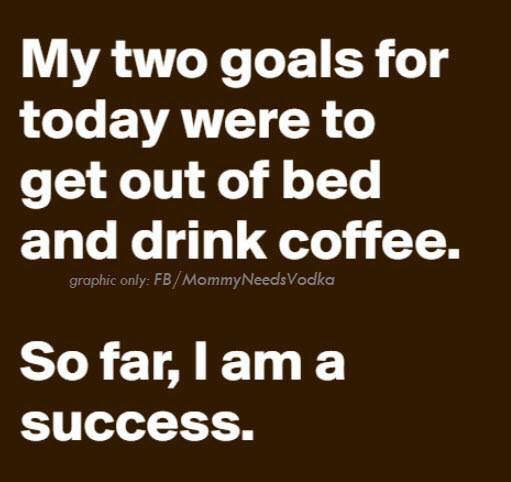 #SundayMorning #motivation #goalsonsunday Yup! So far so good... <br>http://pic.twitter.com/fvc3rc32RF