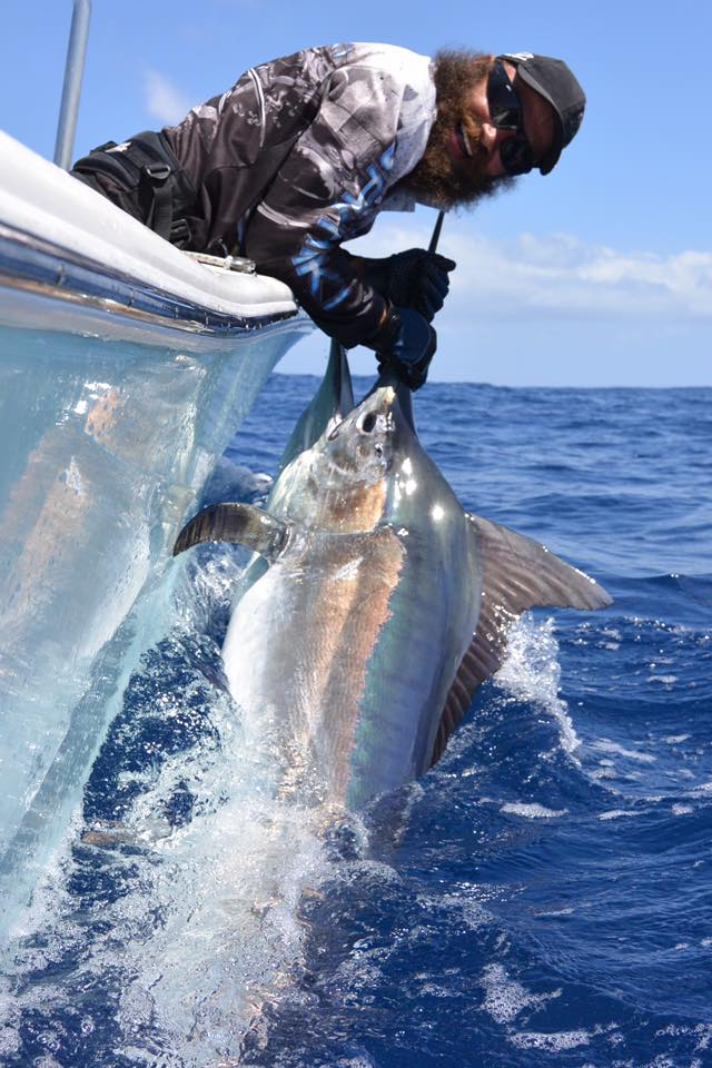 Exmouth, Aus - Ningaloo released a Black Marlin.
