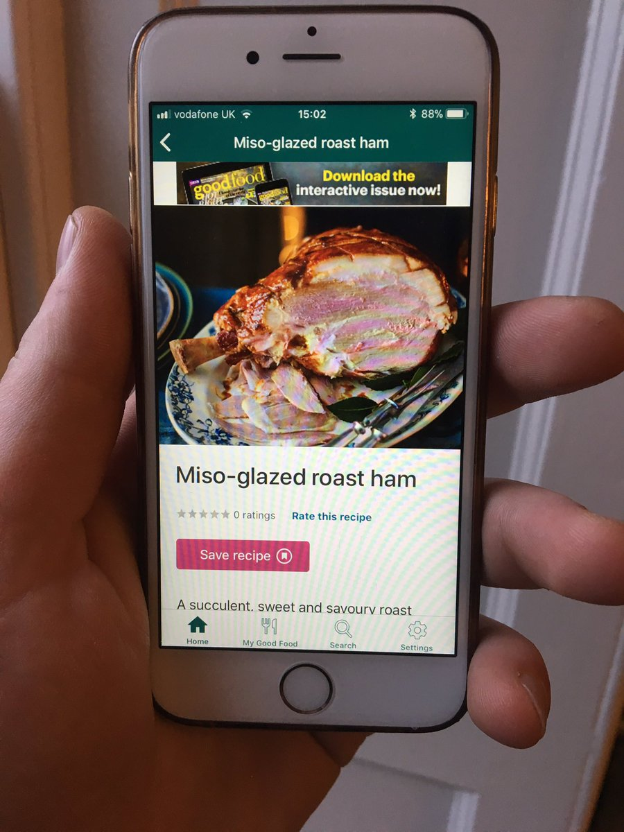 Tommy banks on twitter the new bbcgoodfood app is now available download for all your xmas recipes like my miso glazed ham christmas bbcfood bbcgoodfood bbcgfapp httpstsc9zv8bogd forumfinder Images