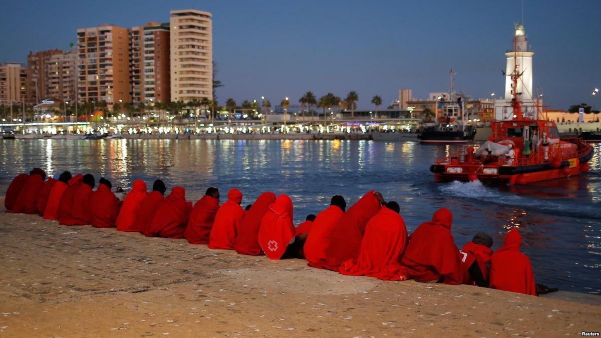 Spain Rescues 104 Migrants Crossing Mediterranean Sea https://t.co/GbPvHjai9E