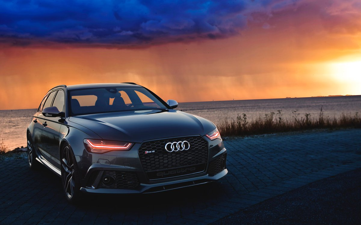 Auditography On Twitter Judgement Day Rs In A Mesmerizing - Sunset audi