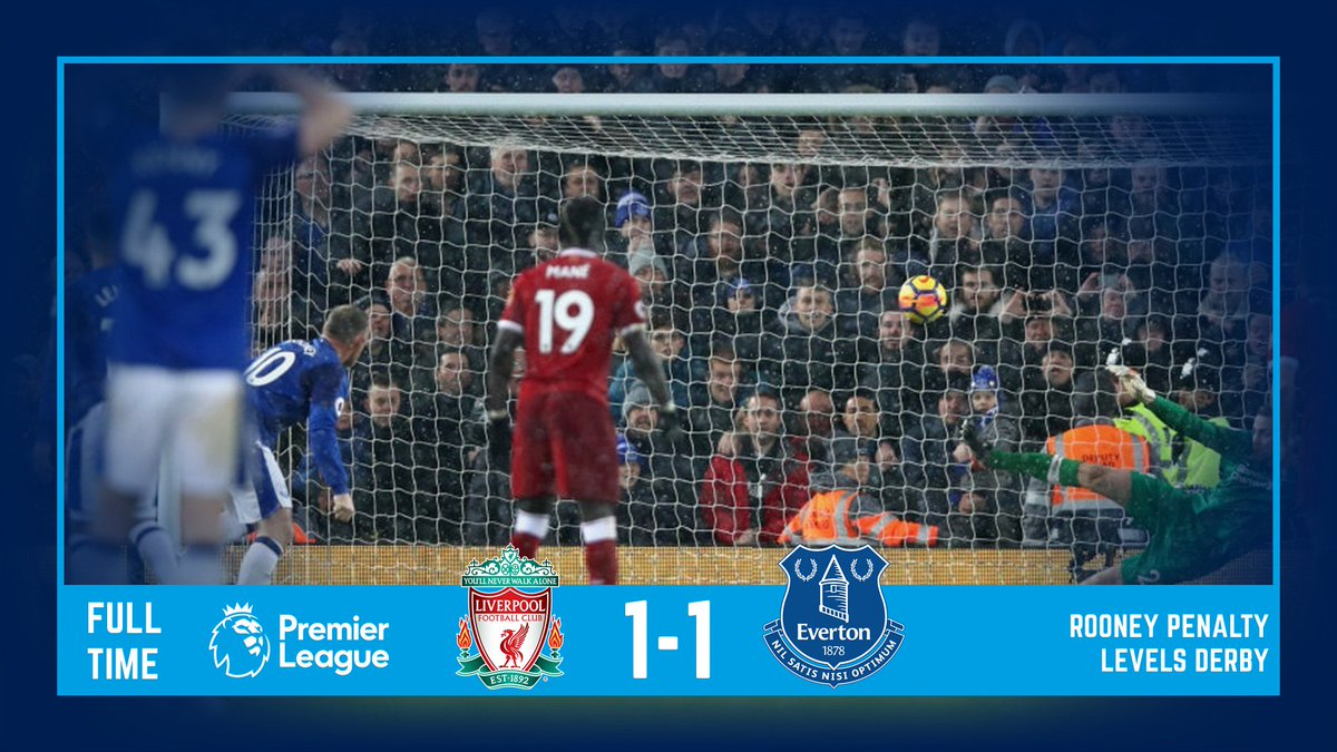 FT. The 229th Merseyside derby ends all...