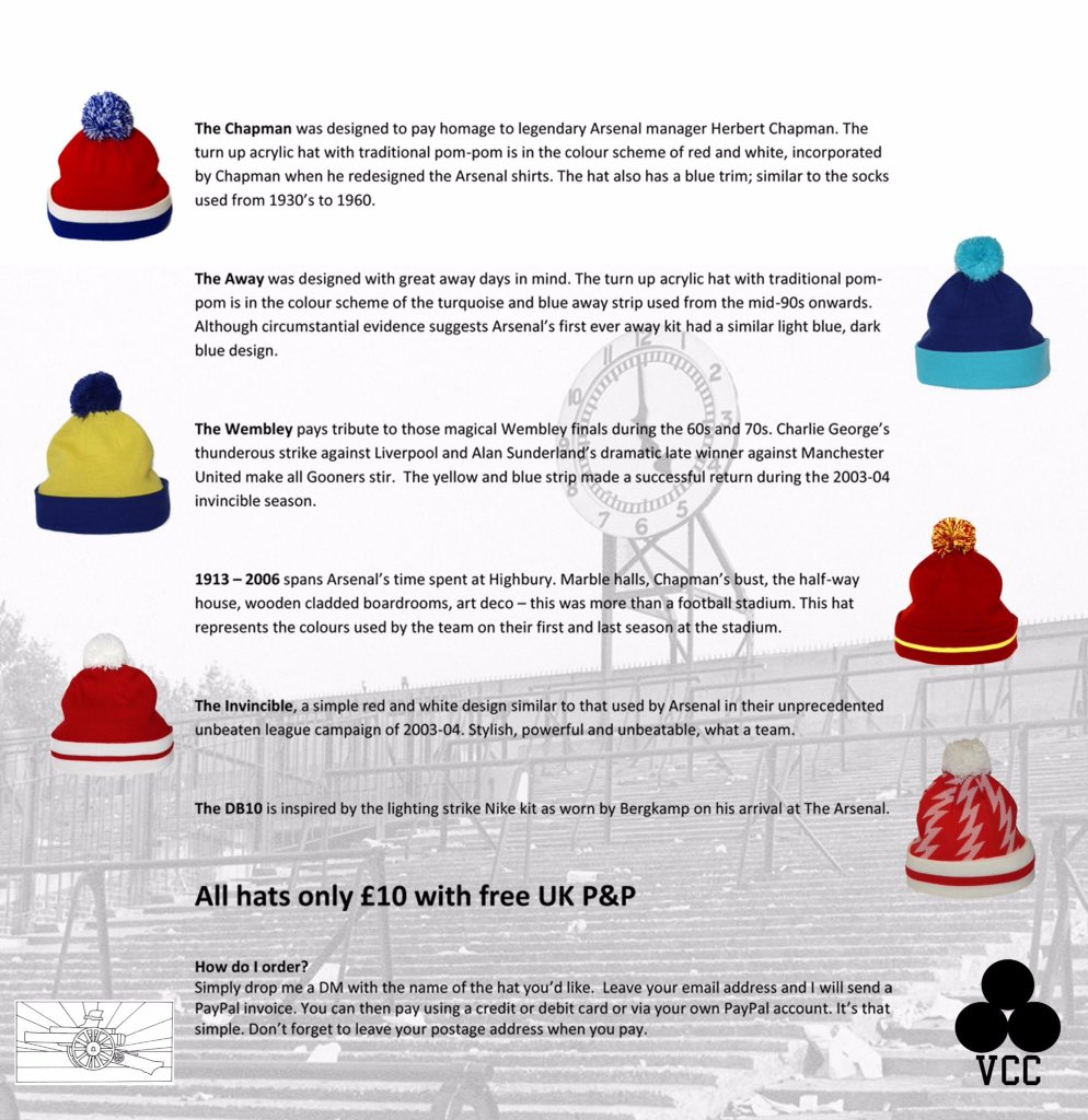Definitely bobble hat weather folks. For fans by fans. Unofficial and proud! Get in touch #Arsenal #Gooners #COYG<br>http://pic.twitter.com/5iHBo0S2wR