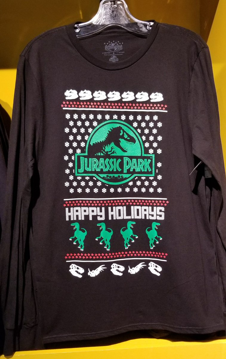 Hedgehogs Corner On Twitter New Jurassic Park Happy Holidays Ugly