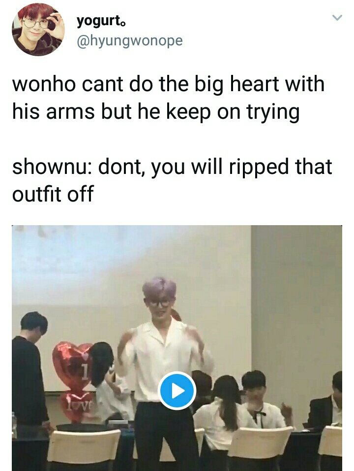 shownu told wonho before to not do it ju...