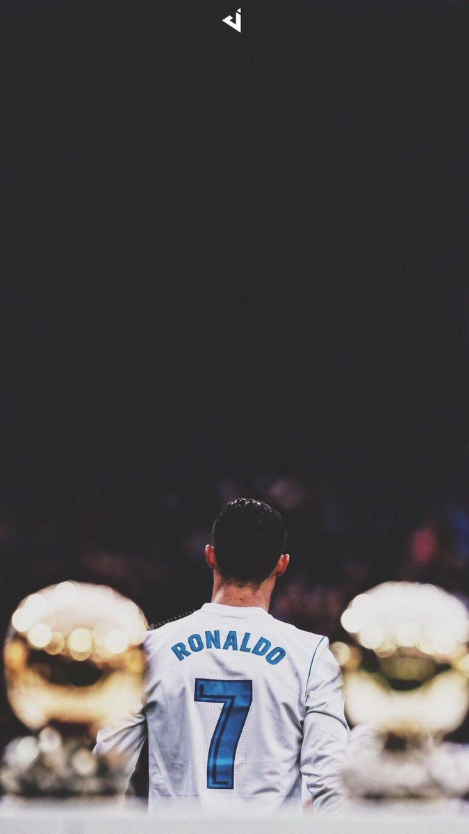Cristiano Ronaldo • Lock Screen & Header #BallondOr #Wallpaper