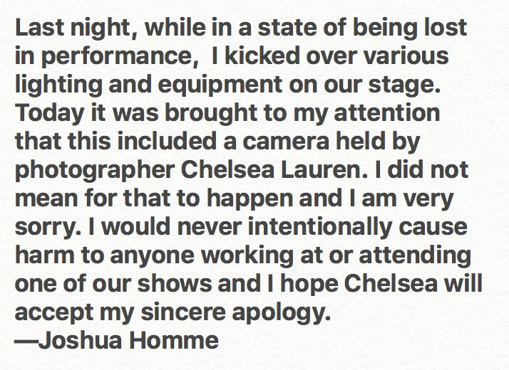 ...and the worst apology of 2017 comes in right under the wire! Can anything top this in the next 21 days?