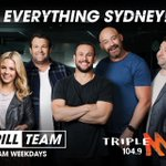 Missing the Triple M Grill Team? Catch our summer podcast at 10am every morning until xmas.  Download the triple m app now! #GrillTeam