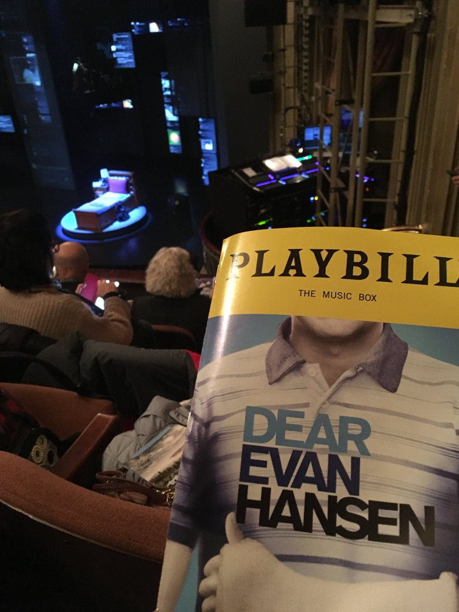 Touching, moving, impeccable @DearEvanHansen #youwillbefound #broadway #nyc<br>http://pic.twitter.com/sHYEuuAHzc