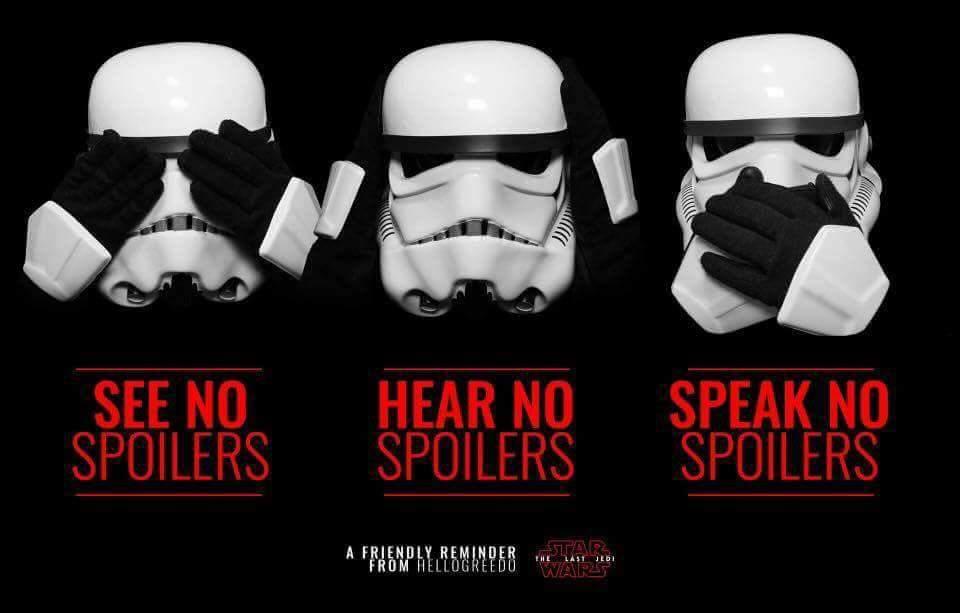 #StarWars #TheLastJedi #NoSpoilers https://t.co/H0nU7ESshE
