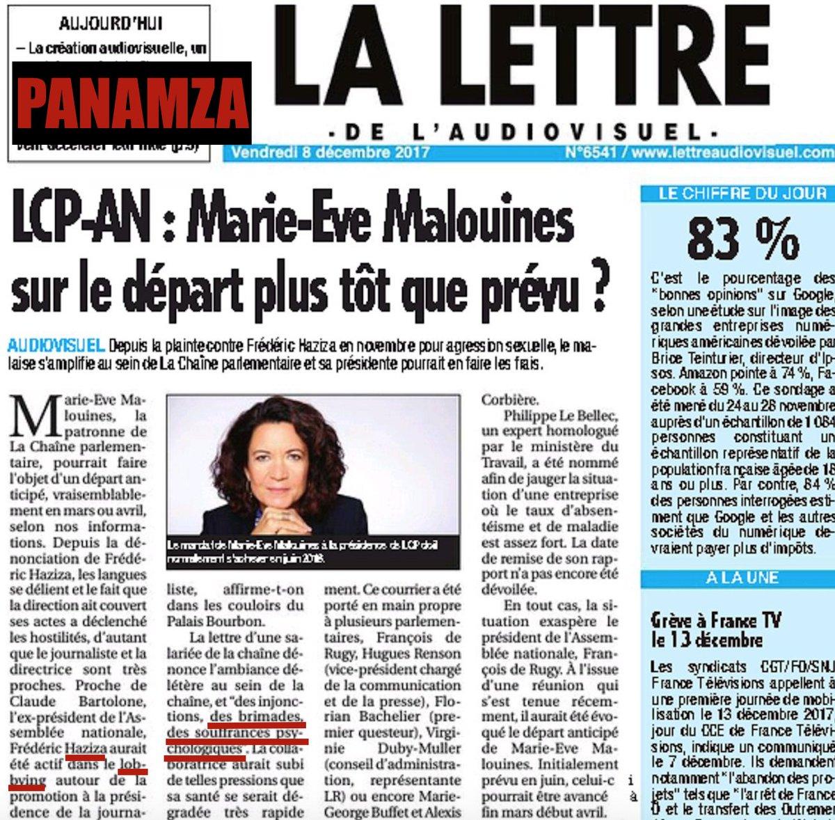 Protégée par le harceleur sexuel Haziza, la présidente de LCP est accusée de harcèlement moral