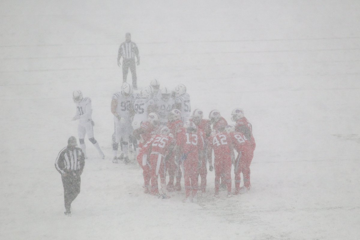 Buffalo Bills On Twitter Now You Know Why We Told The Colts To Wear All White Gobills More Snowy Photos Https T Co Khps6hmvza