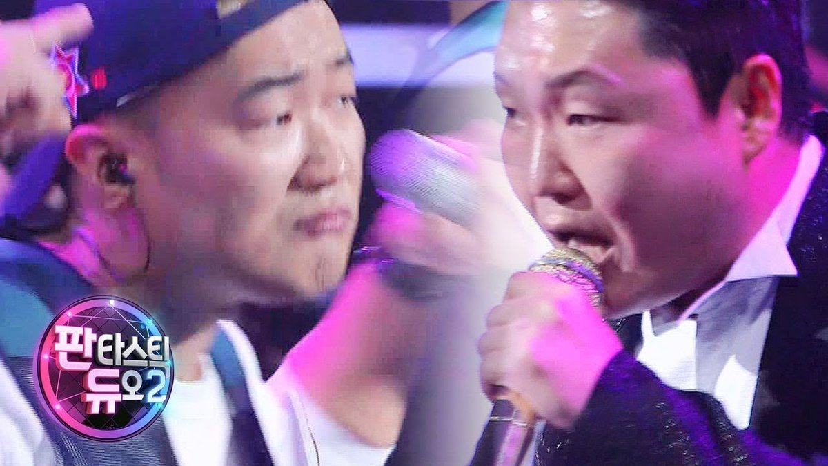 Psy shuts down the stage with his energe...