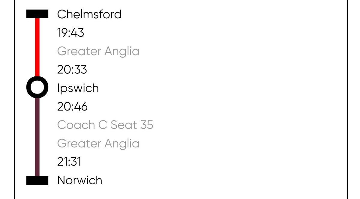 Trains from chelmsford to colchester