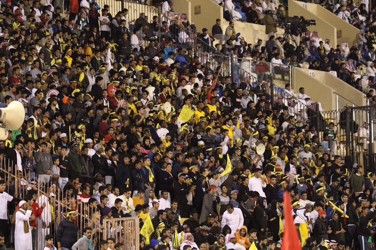📷 | صور من الحضور الجماهيري #أحد_الأهلي...