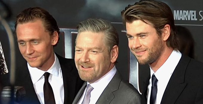 Happy Birthday to actor & director Kenneth Branagh, seen here with a couple of aspiring young punks.