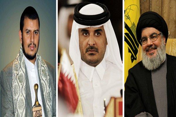 RT @ajlnews: تميم والحوثي ونصر الله يقدمون صكوك الانبطاح لـ'الملالي' : https://t.co/TZ8SETwtZN : #مختارات_من_عاجل  - https://t.co/9QmYRn08Yw