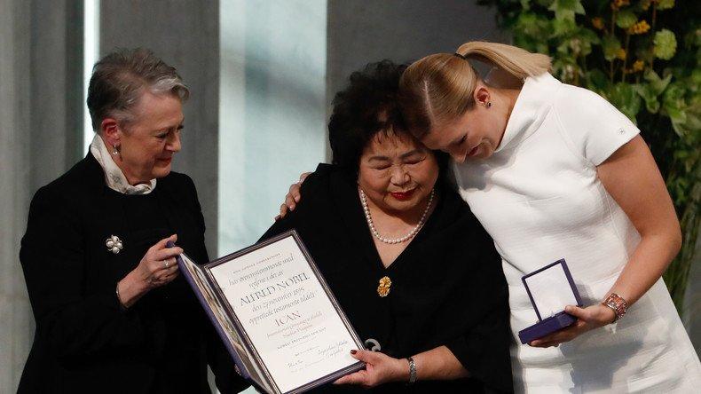 Les antinucléaires de l'#ICAN ont reçu le prix #Nobel de la paix à #Oslo ➡️https://t.co/vafW2knBBx #international