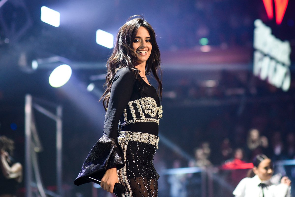 Can we go back to Friday night with #CamilaCabello 💕 #Z100JingleBall (📸: @bfreedphoto)