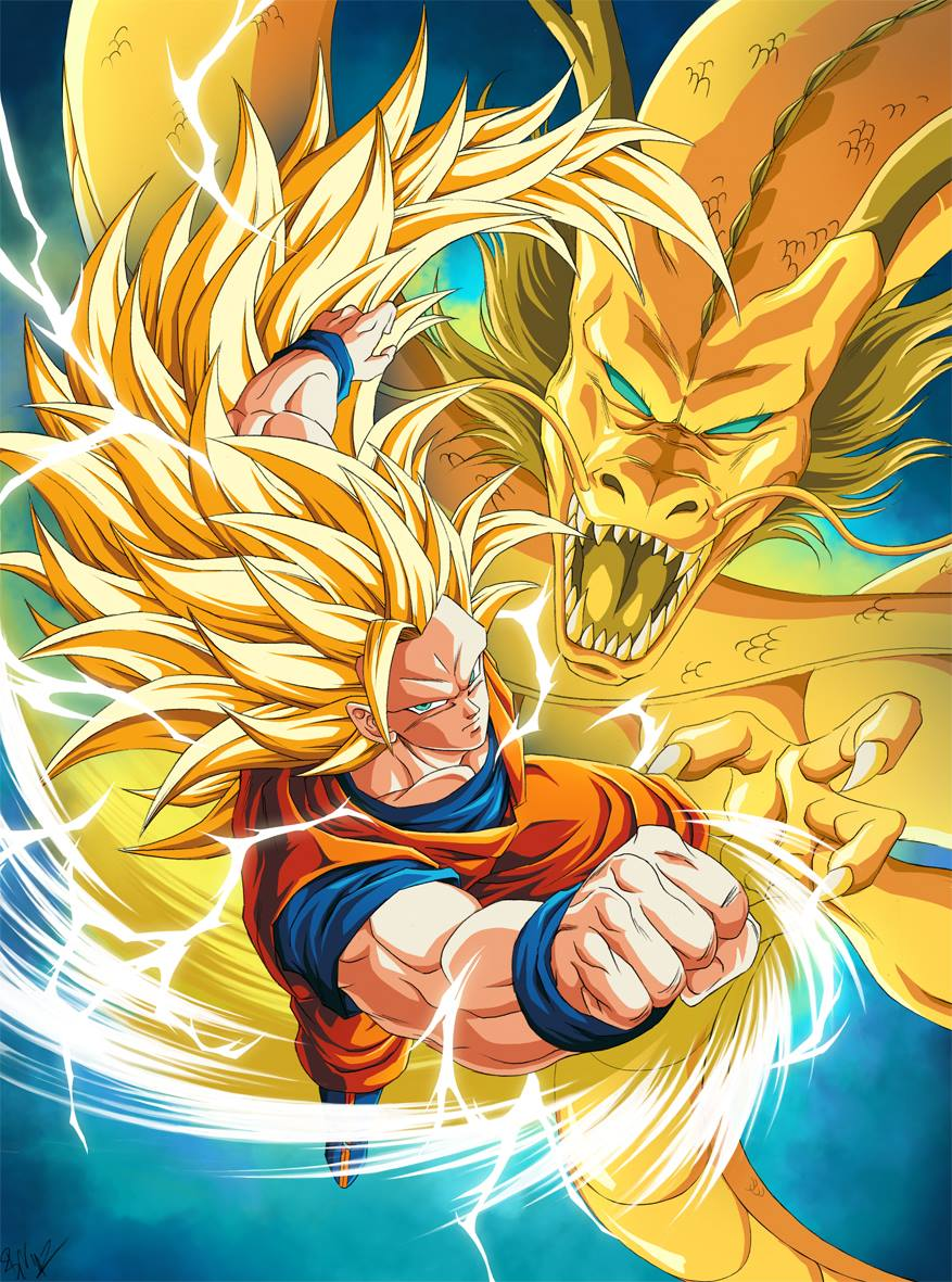 Idea very yellow dragon fist