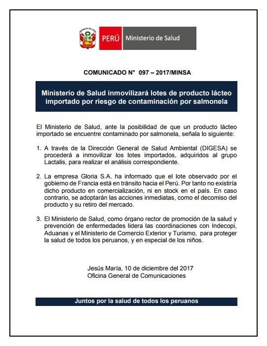 Ministerio de salud minsa peru lima per latest news for Ministerio de salud peru
