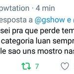 RT @iprotectluanjo: BERROO #LuanNoMelhoresDoAno ht...