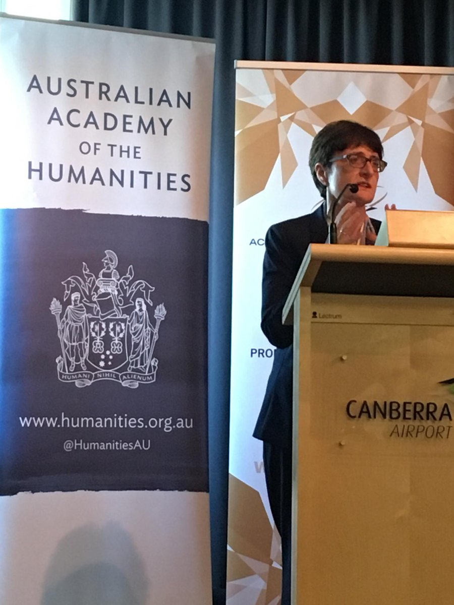 #AAHFellow and President @joydamousi opens @arc_gov_au Centres of Excellence workshop for #HASS @AcadSocSci @auDASSH #humanities<br>http://pic.twitter.com/xS2oYA4ZoX