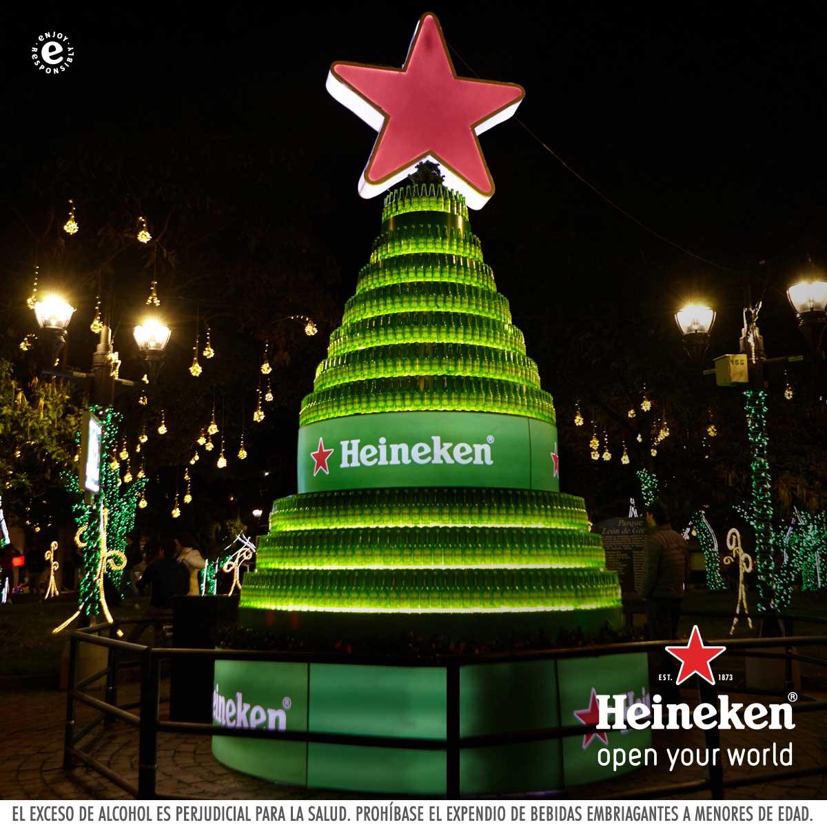 Heineken Feliz Navidad.Heineken Colombia On Twitter La Mejor Forma De Iniciar La