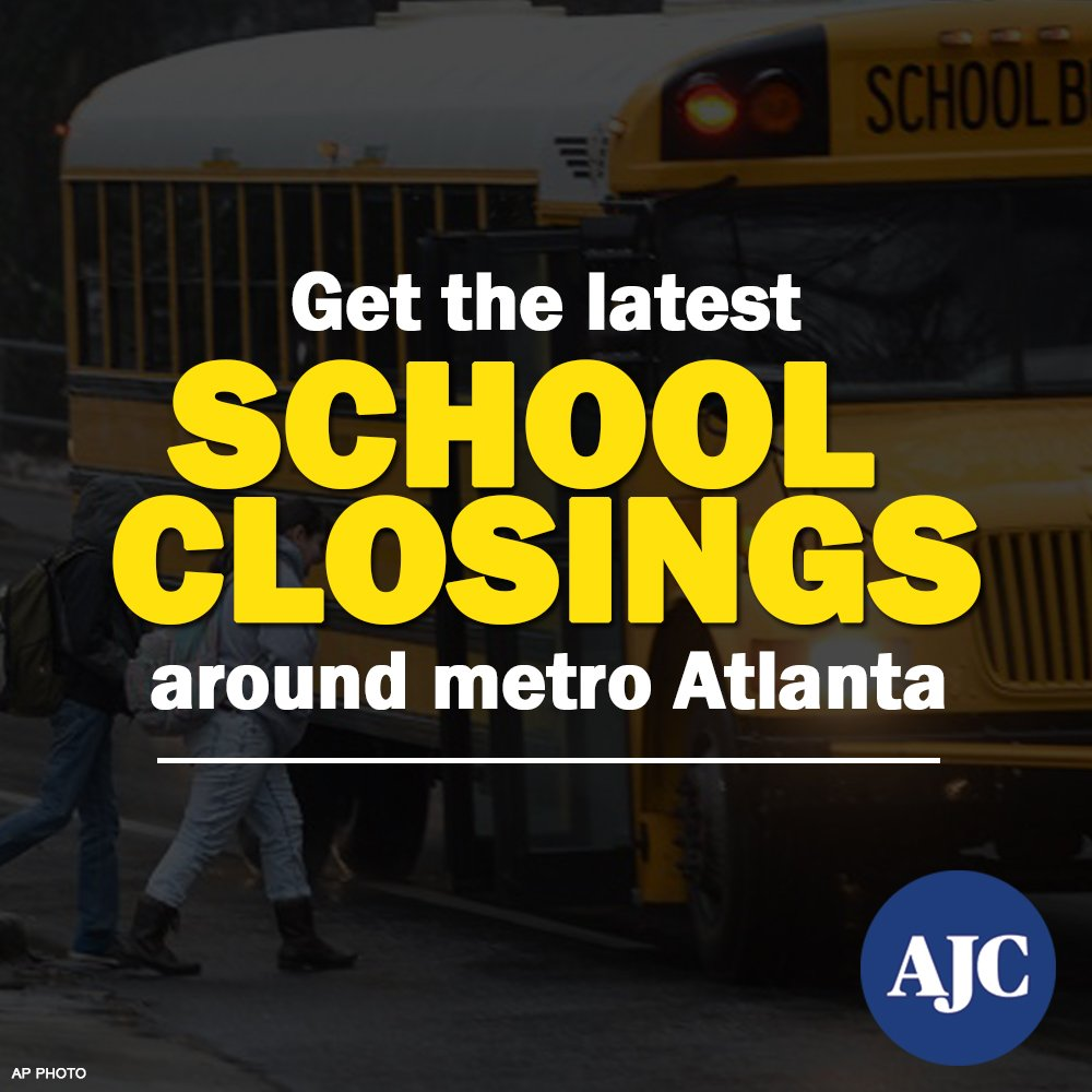 JUST IN: Fulton County Schools closed Monday, but some employees to work #ATLSnow https://t.co/mJmwWaJ0tQ