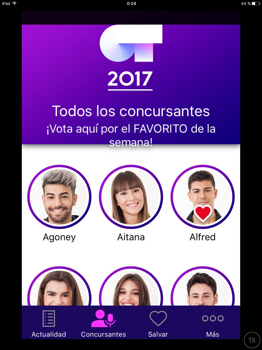 Mis 2 votos #AlfredFavorito11D https://t.co/cqEVTHSbh8