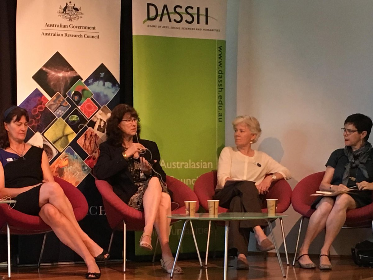 #HASS Centres of Excellence event: @arc_gov_au Directors on the critical  importance of multidisciplinary #research collaborations<br>http://pic.twitter.com/ts6wB308MN