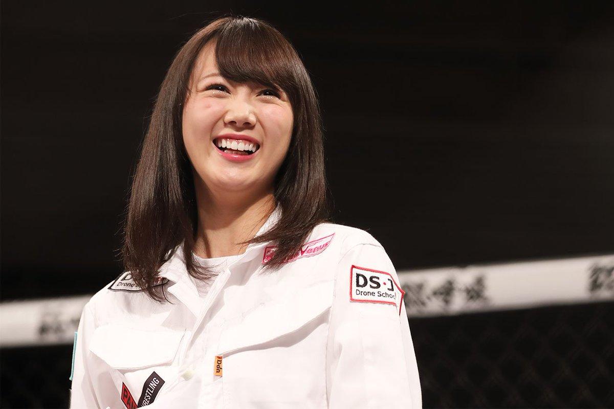 とびっきりの笑顔の石田安奈