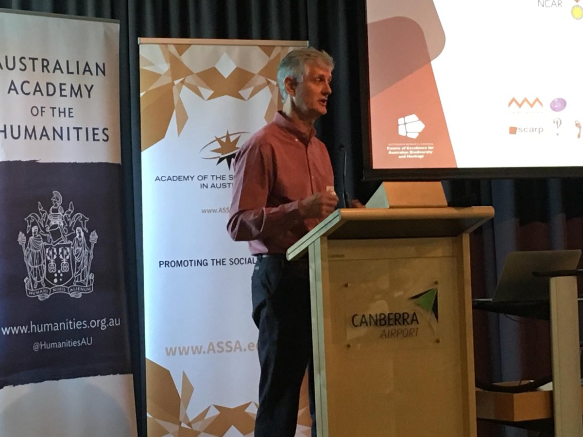 #HASS Centres of Excellence event: @cabahCoE Bert Roberts bring #STEM #humanities &amp; #Indigenous voices together to tell #epicaustralia story<br>http://pic.twitter.com/LigcUDHHfw